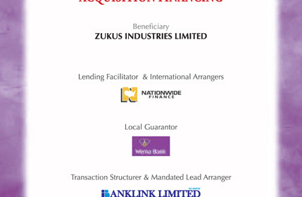 Zukus Industries Limited