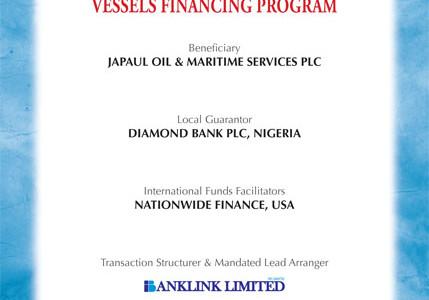 Japaul Oil & Maritime Services Plc